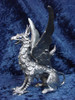 S202, Gryphon by Perth Pewter, Free Shipping, MSRP ($175.00), S-Series Large Fantasy Pewter Figurine