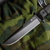 KK0213, Trident AUS 8 with Black Titanium by Kizlyar Supreme Knives, Free Shipping, MSRP ($150.00)