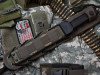 KK0003, Serrated Edge by Kizlyar Supreme Knives, Free Shipping, MSRP ($175.00), Alpha D2 Steel With Titanium