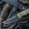 KK0083, Kid 440C  Stone Washed Finish by Kizlyar Supreme Knives, Free Shipping, MSRP ($132.00)
