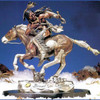 Pursued by Legends Sculptures, Free Shipping, MSRP ($1,950.00)