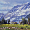 High Passage- Unframed by Martin Grelle-Wall Art, Free Shipping, MSRP ($1,450.00)