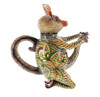 BushBaby Teapot by The Ardmore Collection, Free Shipping, MSRP($1,692.00)