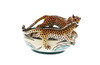 Cheetah Bowl by The Ardmore Collection, Free Shipping, MSRP($299.00)