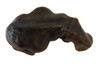 Sitting Hand Made Leather Hippo, Free Shipping, MSRP($74.99)