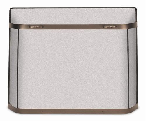 18370, Spark guard fireplace screen, by Pilgrim Home And Hearth, Free Shipping, MSRP ($240.00), burnished bronze finish