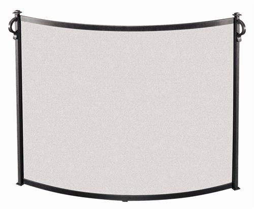 18296, Bowed fireplace screen, by Pilgrim Home And Hearth, Free Shipping, MSRP ($329.00), vintage iron finish