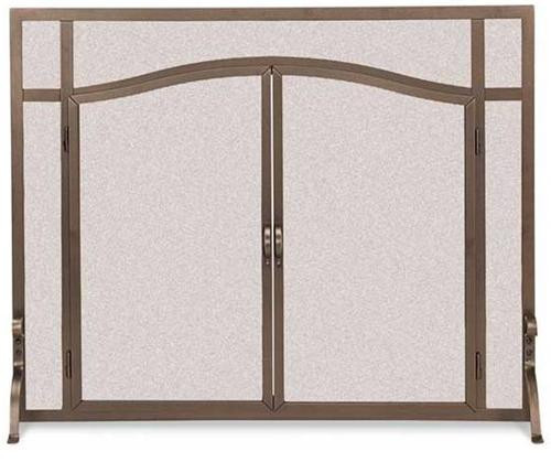 18440, FGND arched operable doors, by Pilgrim Home And Hearth, Free Shipping, MSRP ($419.00), steel fireplace screen