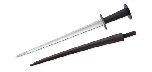SB3964, Rondel Dagger - 15th Century by Get Dressed For Battle (GDFB), Free Shipping, MSRP ($105.00), 1075 Tempered Steel Blade