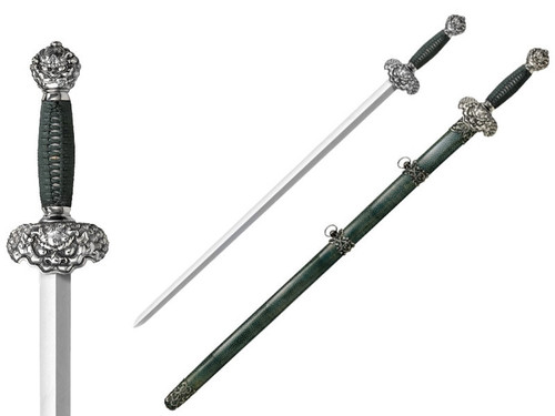 CS88RLG, Jade Lion Gim Sword by Cold Steel Inc., Free Shipping, MSRP ($799.95), Damascus