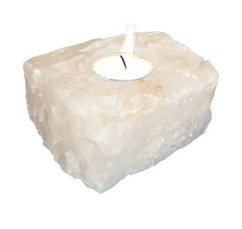 TLWQ, Quartz Candle Holder by Nature's Expression, Free Shipping, MSRP ($31.50)