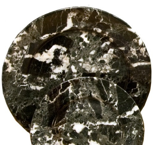 PBZM, Black Zebra Marble 8 Plates by Nature's Expression, Free Shipping, MSRP ($42.00)