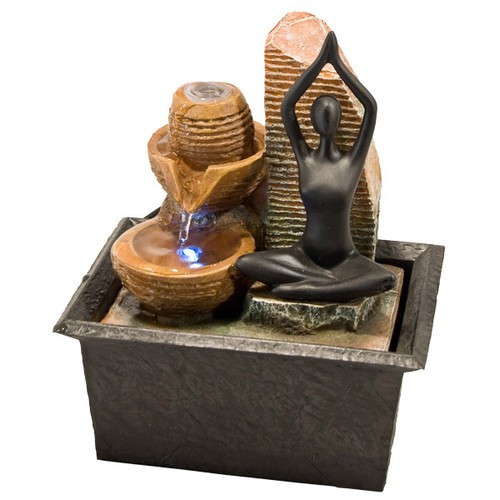 FTYG, Yoga Light Fountain by Nature's Expression, Free Shipping, MSRP ($60.00)