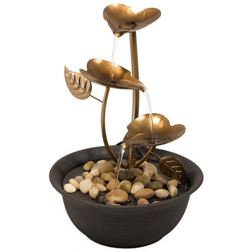 FTCL, Copper Leaves Fountain by Nature's Expression, Free Shipping, MSRP ($75.00)