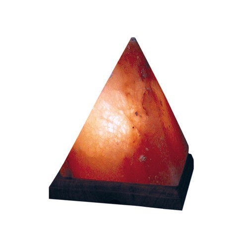 STLPD, Himalayan Salt Pyramid Lamp by Nature's Expression, Free Shipping, MSRP ($63.00)