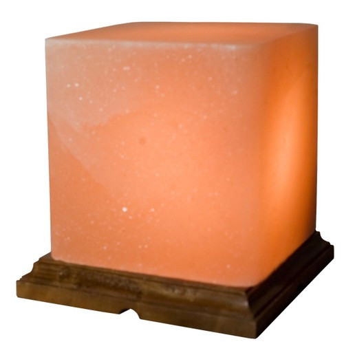 STLCB, Himalayan Salt Square Lamp by Nature's Expression, Free Shipping, MSRP ($72.00)