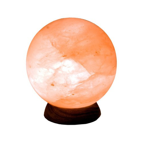 STLFS, Himalayan Salt Sphere Lamp by Nature's Expression, Free Shipping,  MSRP ($72.00)