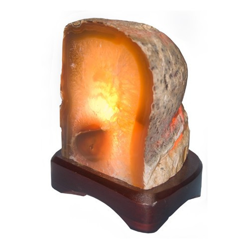 NALP, Natural Agate Lamp by Nature's Expression, Free Shipping, MSRP ($75.00)