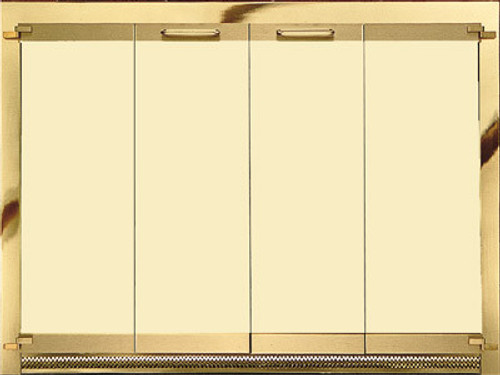 0012, Solid brass Glass Doors by Portland Willamette, Free Shipping, MSRP ($4,800.00)