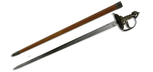 SH1049, Cromwell Sword by Hanwei Forge, Free Shipping, MSRP ($510.00), 1566 Hand Forged High Carbon Blade