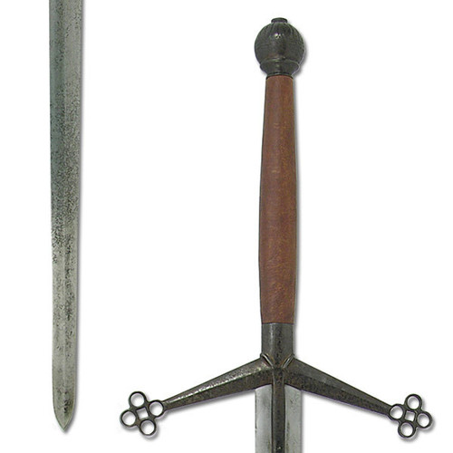 SH2060N, Antiqued Claymore Sword by Hanwei Forge, Free Shipping, MSRP ($365.00), 1566 Hand Forged High Carbon