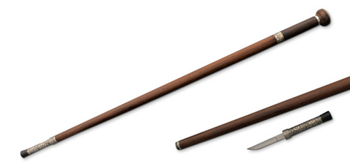 SD12140, Taiji Sword Cane by Dragon King Swords, Free Shipping, MSRP ($609.00), Damascus Steel