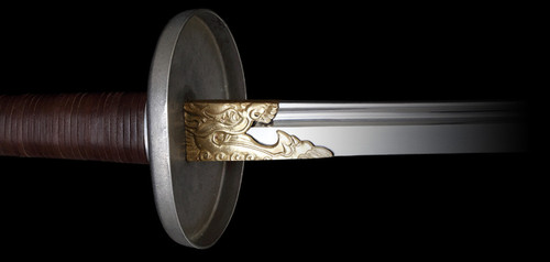 SD11190, Miao Dao by Dragon King Swords, Free Shipping, MSRP ($629.00), 5160 Carbon Steel