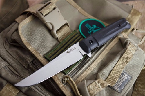 KK0010, Croc AUS 8 Satin by Kizlyar Supreme Knives, Free Shipping, MSRP ($150.00)