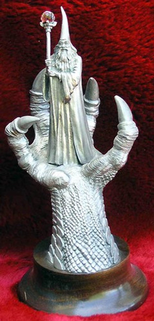 FA68, In The Dragon's Claw by Perth Pewter, Free Shipping, MSRP ($125.00), FA-Series Large Fantasy Pewter Figurine