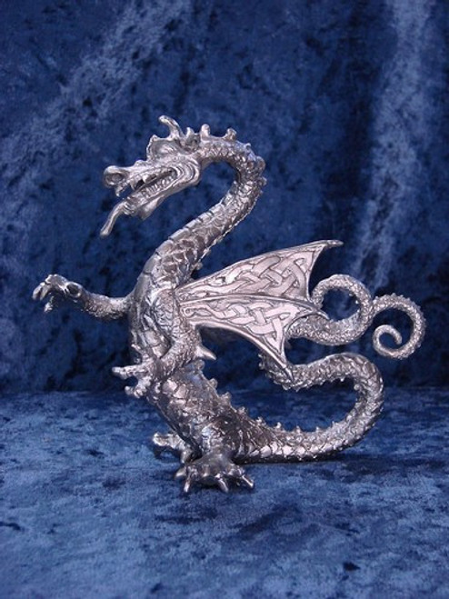 FA45, Fafnir (Dragon) by Perth Pewter, Free Shipping, MSRP ($125.00), FA-Series Large Fantasy Pewter Figurine1