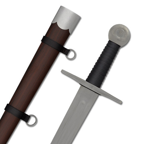 SH2046, Practical Single-Hand Sword by Hanwei Forge, Free Shipping, MSRP ($220.00), 1065 Forged High Carbon Steel