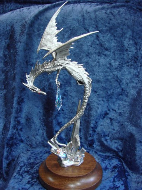 S268, Dragon's Flight by Perth Pewter, Free Shipping, MSRP ($125.00), S-Series Large Fantasy Pewter Figurine