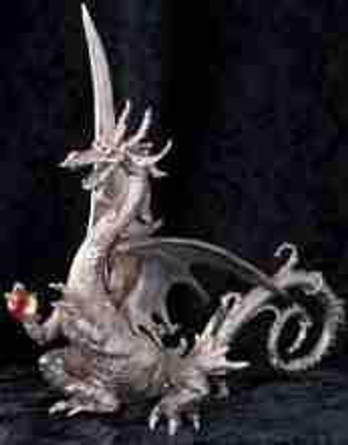 S214, Dragon by Perth Pewter, Free Shipping, MSRP ($235.00), S-Series Large Fantasy Pewter Figurine