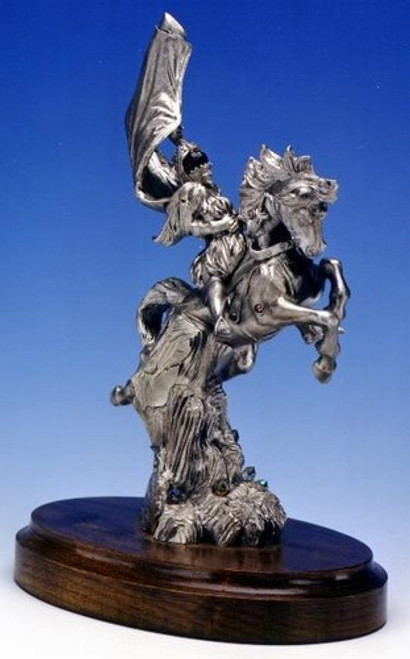 LE12, Camelot by Perth Pewter, Free Shipping, MSRP ($500.00), Limited Edition Pewter Figurine