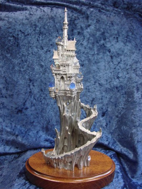 LE05, Castle Of Crystal Dreams by Perth Pewter, Free Shipping, MSRP ($550.00), Limited Edition Pewter Figurine