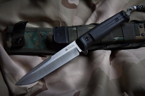 KK0209, Delta D2 Satin Finish by Kizlyar Supreme Knives, Free Shipping, MSRP ($174.95)