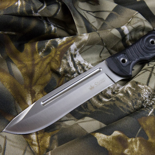 KK0018, Maximus AUS 8 Satin Finish by Kizlyar Supreme Knives, Free Shipping, MSRP ($151.95),  Steel