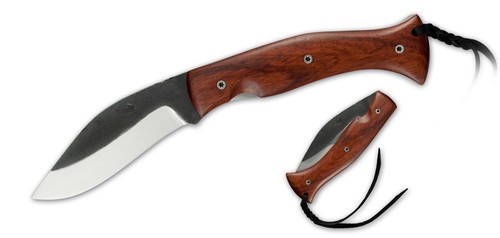 KC4029, Kukri Lock - Rosewood Scales by Citadel Knives & Swords, Free Shipping, MSRP($199.00), Bohler N690Co