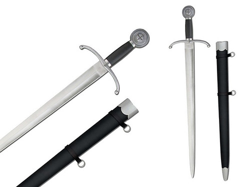 SH2369, Henry V Sword by Hanwei Forge, Free Shipping MSRP ($290.00), Hand Forged High Carbon Steel Blade