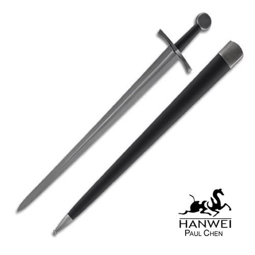 SH2404, Early Medieval Sword by Hanwei Forge, Free Shipping, MSRP ($355.00), 5160 Forged Marquenched Spring Steel