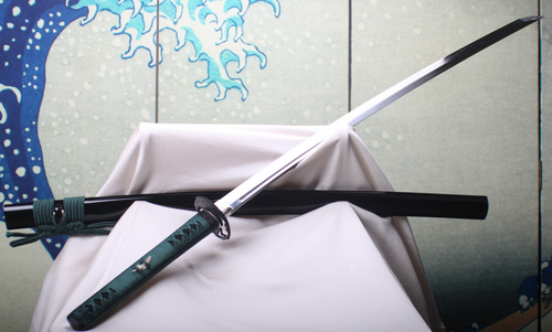 Tenku 1085/1055, The Hawk Katana by SkyJiro Forge, Free Shipping, MSRP ($799.00), High Carbon Forged/Folded Steel