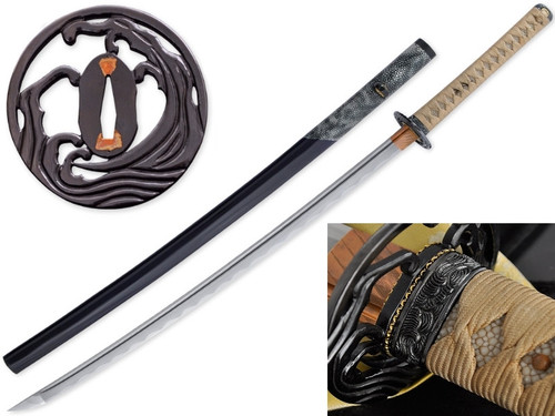 SC4001, Ocean Katana, Citadel Knives & Swords, Free Shipping, MSRP ($2,699.00), 1075 High Carbon Steel Blade