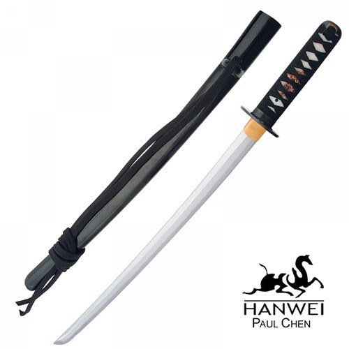 SH2061, Practical Wakizashi by Hanwei Forge, Free Shipping, MSRP ($280.00), High Carbon Forged Blade Steel