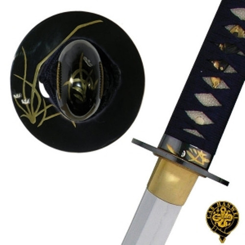 SH1207, Orchid Katana, by Hanwei Forge, Free Shipping, MSRP ($1,300.00),  Fully Hand Forged And Folded Steel