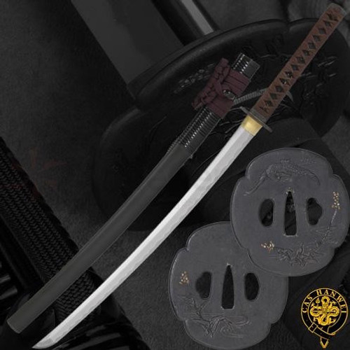 SH6007XFF, Tori XL Katana, by Hanwei Forge, Free Shipping, MSRP ($1,550.00), Powder-Steel Forged And Folded