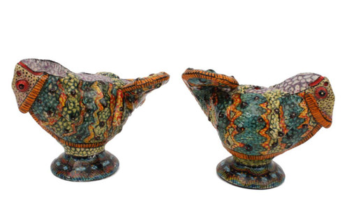 The Ardmore Collection Chameleon Salt and Pepper Shakers by Zawadee, Free Shipping, MSRP ($305.00)
