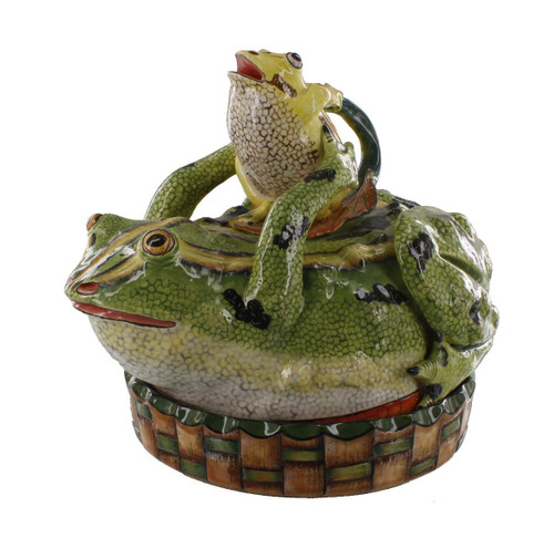 The Ardmore Collection Frog Butter Dish by Zawadee, Free Shipping, MSRP ($854.00)