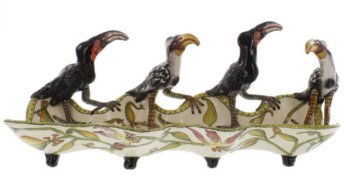 The Ardmore Collection Bird Platter by Zawadee, Free Shipping, MSRP ($1,142.00)