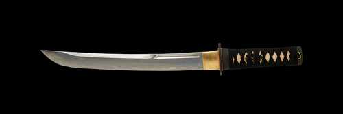 "123017, 12"" Bushi F/F Tri-Steel Tanto in Musashi by Dynasty Forge, Free Shipping, MSRP ($520.00)"