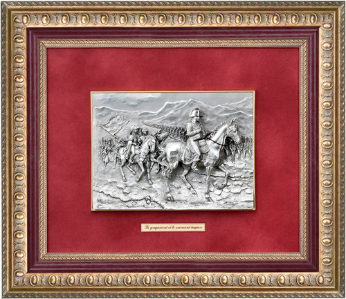 Napoleon painting and his Grognards by Les Estains Du Prince, Free Shipping, MSRP ($607.23)